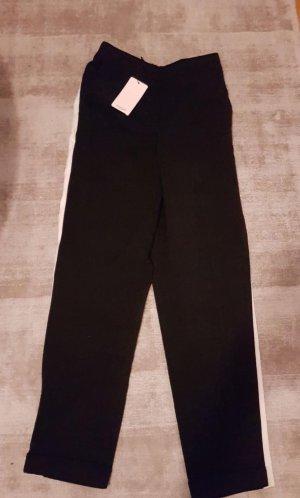 Mango Pantalone di lana nero