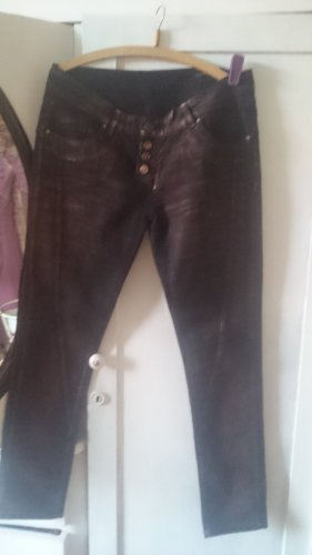Brandalism Stretch Jeans brown