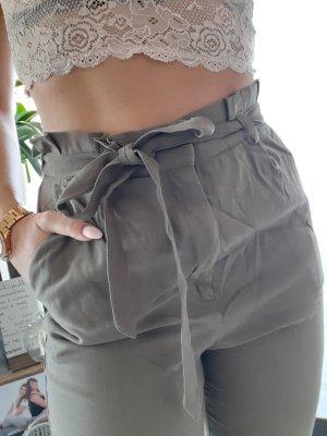 Hose mit Paperbag - Bund
