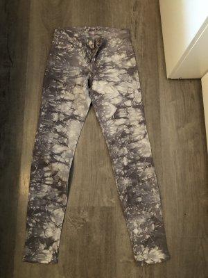 J brand Low-Rise Trousers grey-light grey