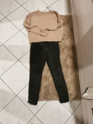 Only Twin Set tejido negro-marrón claro