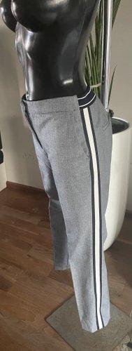 Hose mit Seitenstreifen Gr.S -blau von Zara