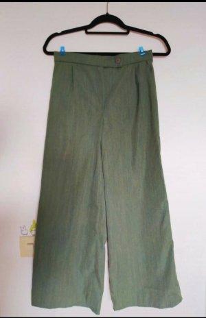 Handmade Jersey Pants green grey-khaki