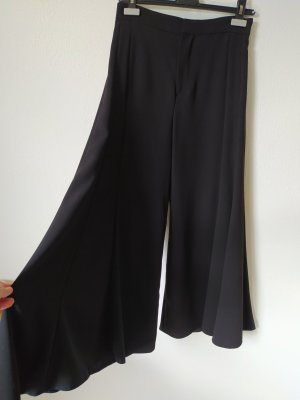 Zara Basic Pallazzobroek zwart
