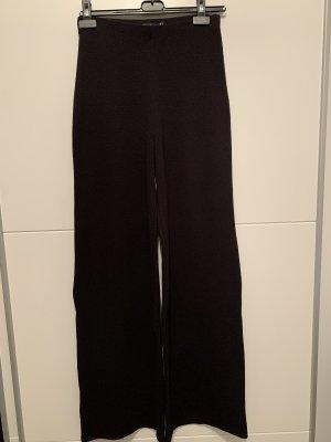 Boohoo Pantalon Marlene noir