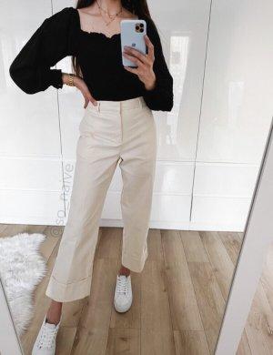NA-KD Pantalón de campana crema-beige