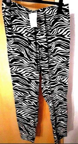 C&A Cargo Pants black-white