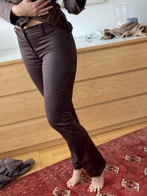 Moschino Jeans Pantalon cigarette brun