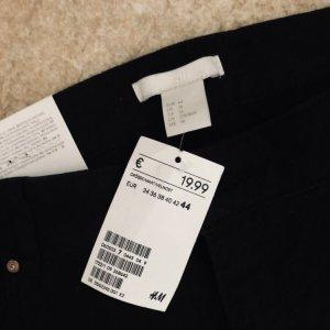Anna Glover × H&M Jeansy biodrówki czarny