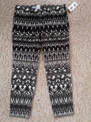 Kapalua Pantalone elasticizzato nero-bianco sporco