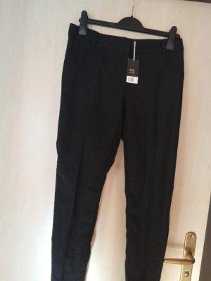 H&M Premium Spodnie rurki czarny