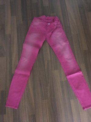 Nolita Low-Rise Trousers pink