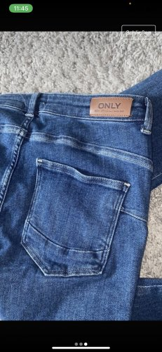 Be only 3/4-jeans blauw-donkerblauw