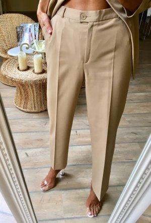 Hose/Pantalon Beige Camel von Delmod!