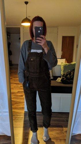 Pepe Jeans Spodnie khaki oliwkowy