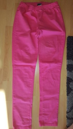 Pieces Jeggings pink cotton