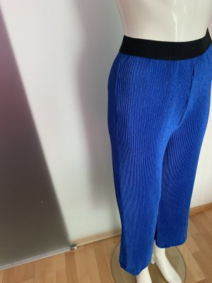 Hose Plissee von Camomilla Gr 36 S Royal blau