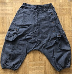 Ohne 3/4 Length Trousers grey cotton