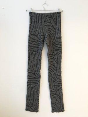 Reality Studio Pantalone di lana grigio chiaro-grigio Tessuto misto