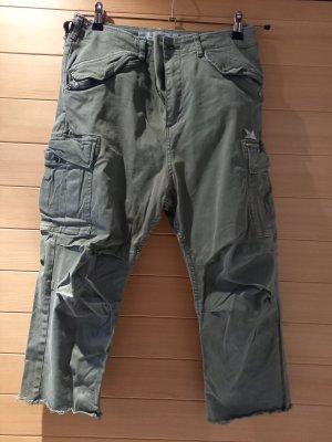 Replay Pantalon «Baggy» ocre tissu mixte