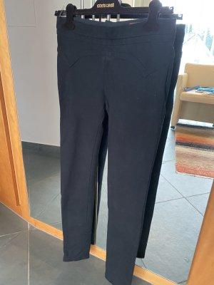 Roberto Cavalli Pantalone jersey nero
