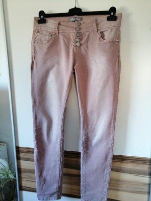 Blind Date Pantalone a vita bassa rosa pallido