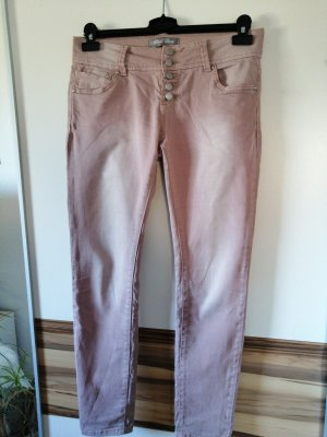 Blind Date Low-Rise Trousers pink