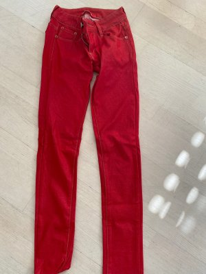 Jeggings red