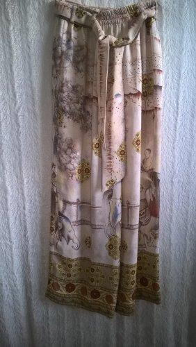 Pantalon Marlene beige-marron clair polyester