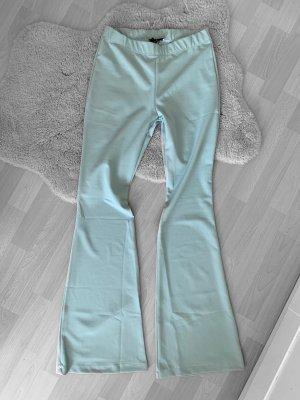 Jeansindustry Pantalon pattes d'éléphant bleu pâle