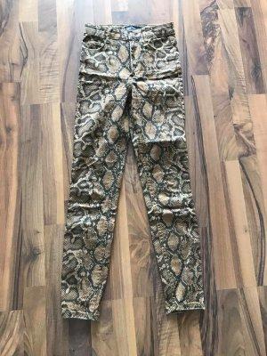 Hose Schlangenmuster Gr. XS von Zara