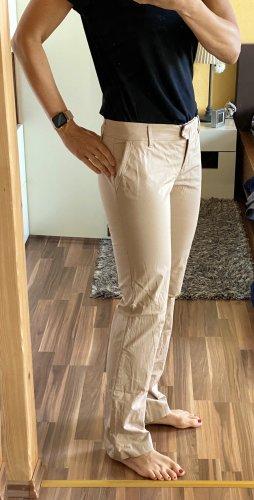 Schumacher Pantalon taille basse crème