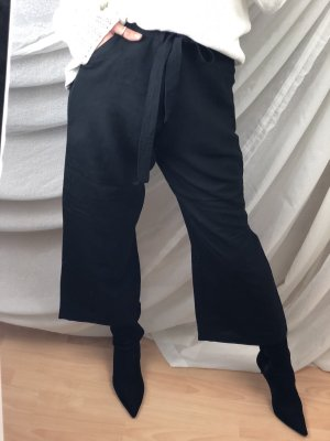 Biaggini Pantalón tobillero negro