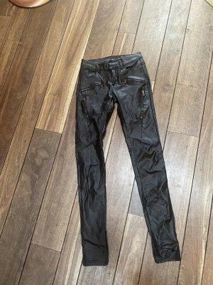 Hose schwarz glänzend