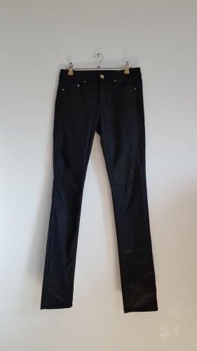 Hose schwarz glänzend H&M 27/32