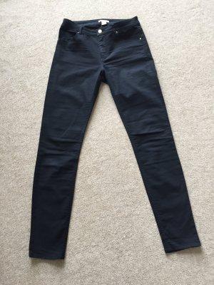 H&M Pantalón de cinco bolsillos negro