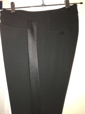 Laurèl Hoge taille broek zwart Acetaat