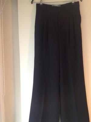 Zara Marlene Dietrich broek zwart Polyester