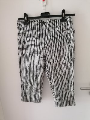 hs jeans 3/4 Length Trousers white-black