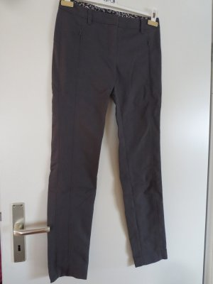 Marc Cain Stretch Trousers anthracite cotton