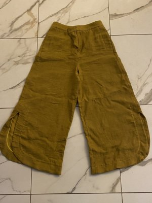Massimo Dutti 7/8 Length Trousers sand brown