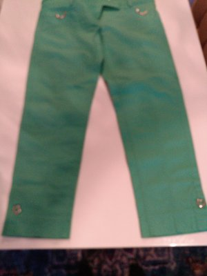 Rocco Barocco 3/4 Length Trousers green
