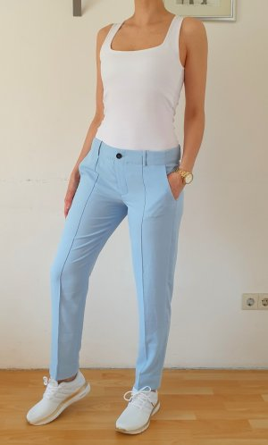 Silvian heach Pantalon fuselé bleu azur