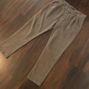 Joggingbroek grijs-bruin
