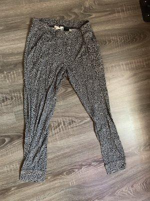 Hose Sternchen schwarz weiß homewear Jogginghose Schlafanzughose