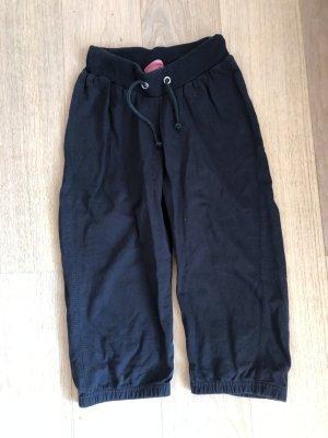 Hose Stoffhose 3/4 Freizeithose schwarz Gr. XS
