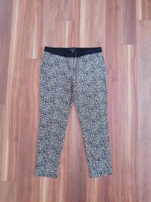 Primark Pantalone chino bianco-nero