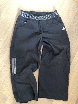 Adidas Spodnie 7/8 ciemnoszary-antracyt