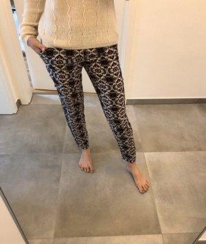 Hose stoffhose Chino Mode Fashion Blogger schwarz xs s 34