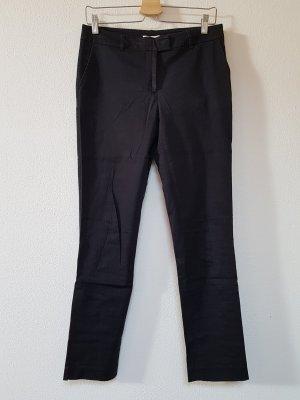Anne L. 7/8-broek zwart-donkerblauw